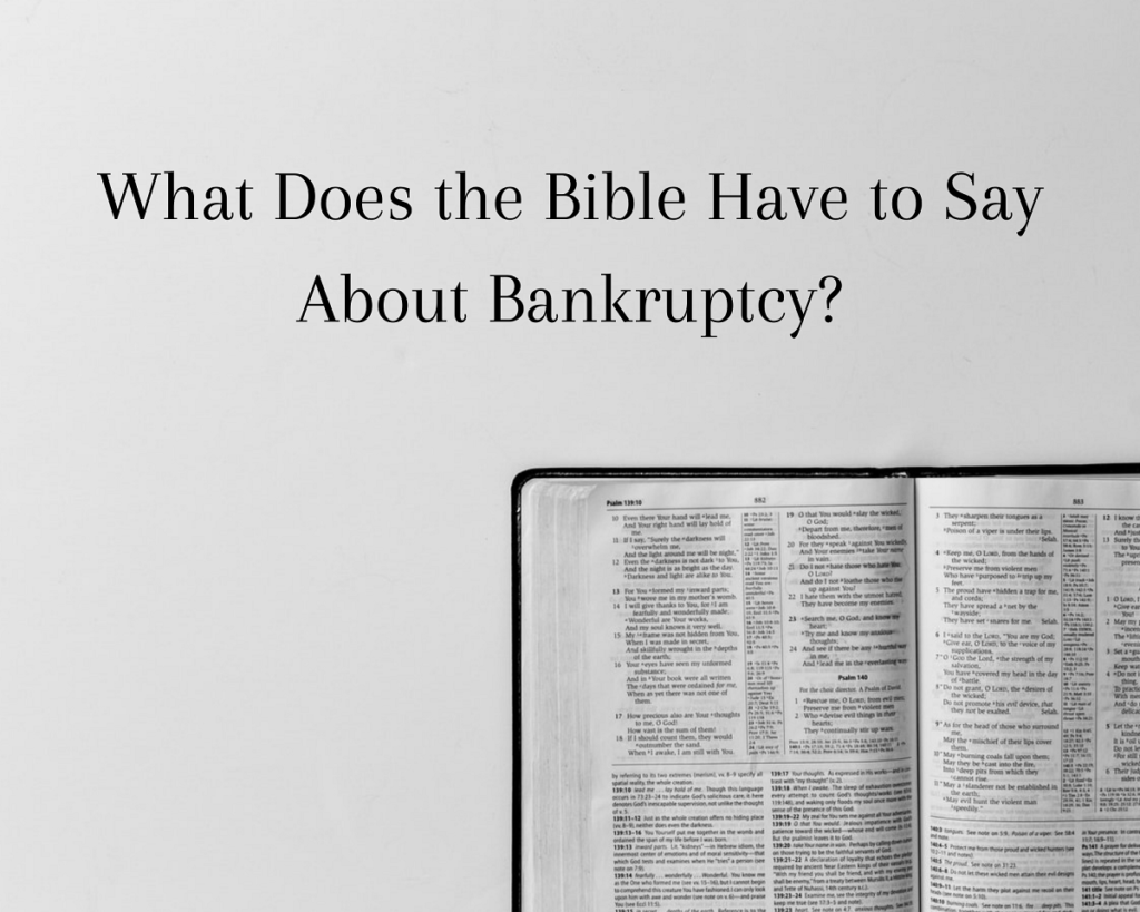 bankruptcy and the bible